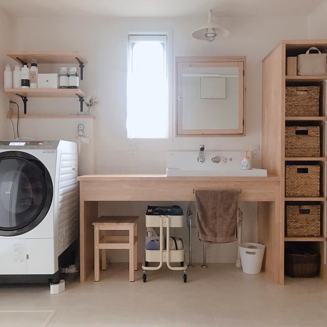 普通じゃつまらない☆IKEAで叶える私のこだわり洗面空間