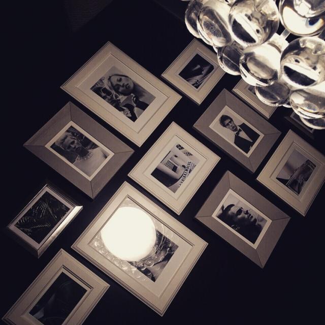 写真を入れるだけじゃない!IKEAフォトフレームの魅せる壁