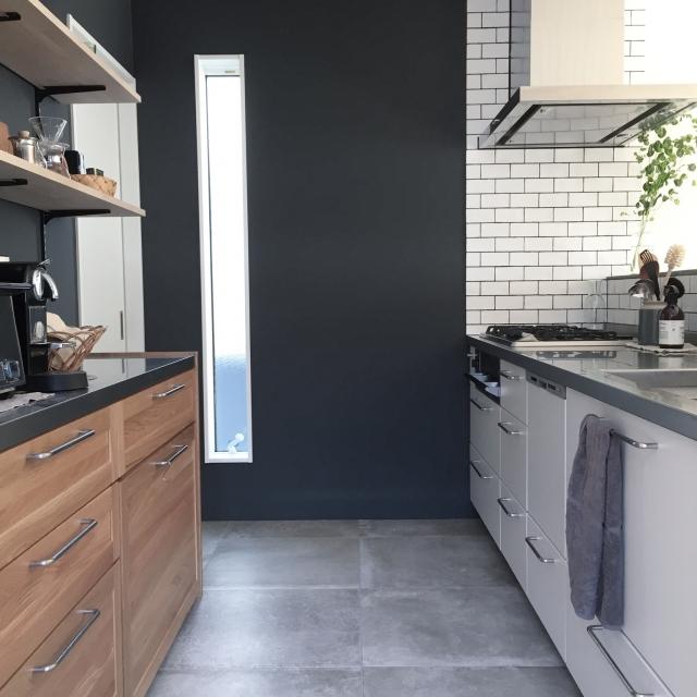 「シンプルな空間に小物で表情を。シックにきめる北欧スタイル」憧れのキッチン vol.106 saachiiiさん