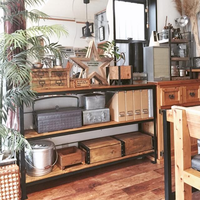 どのお部屋にも木の温もりを♪木製の素敵な収納家具のある風景