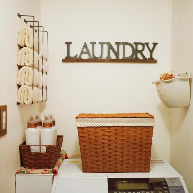 身支度や手洗いうがい、洗濯もスムーズ☆洗面所の収納術