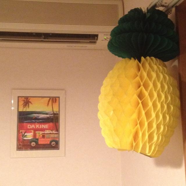 Malamaさんのパイナップル