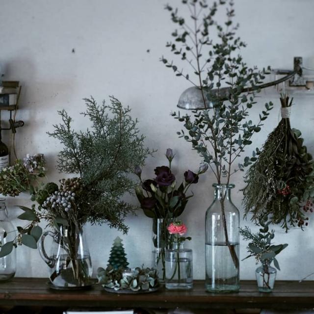 花と共に暮す。豊かなボタニカルディスプレイ実例集