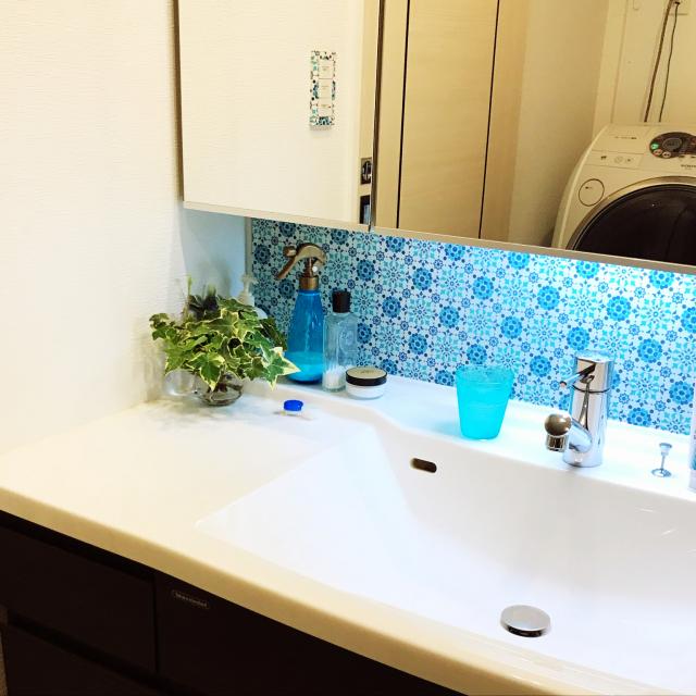 ピカピカをキープしたい!洗面所の水跳ね・水垢対策