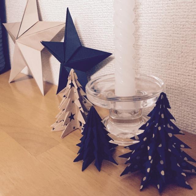クリスマスにも使えるモミの木