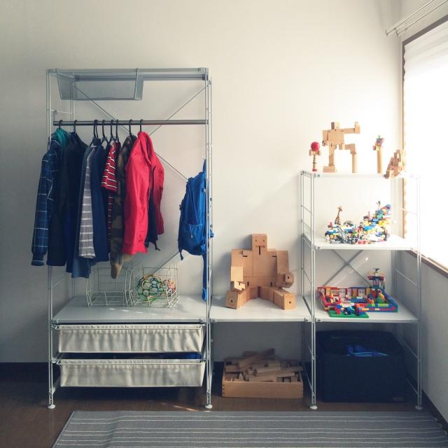 ニトリと無印良品を使って子ども部屋を過ごしやすい空間に