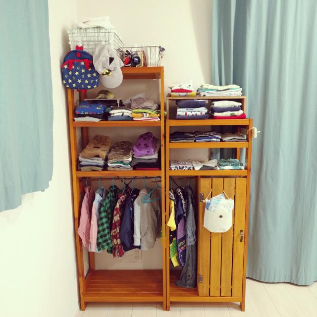 こんな工夫でうまくいく☆子ども服の整理収納アイデア