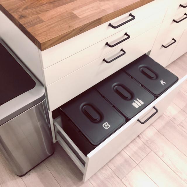 使いやすさを意識して♡ゴミ箱の置き場所はここに決まり!