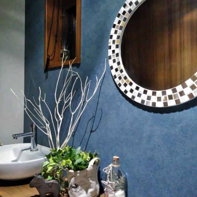 シンプル派もエレガント派も☆洗面所に置きたいニトリの鏡