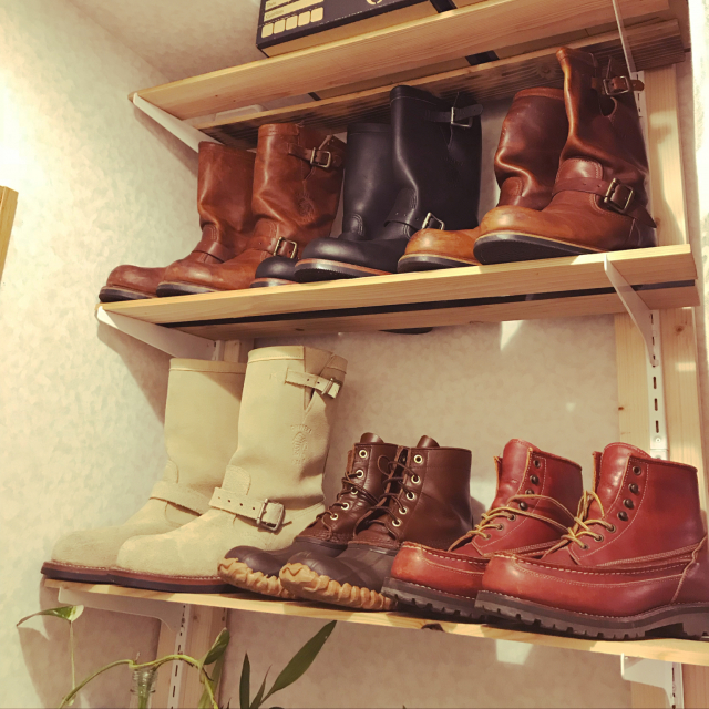 これでスッキリしました!長靴・ブーツの収納アイデア