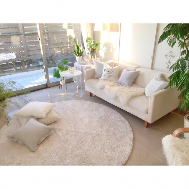 柔らかなシンプルさが魅力☆無印良品の大型家具に注目