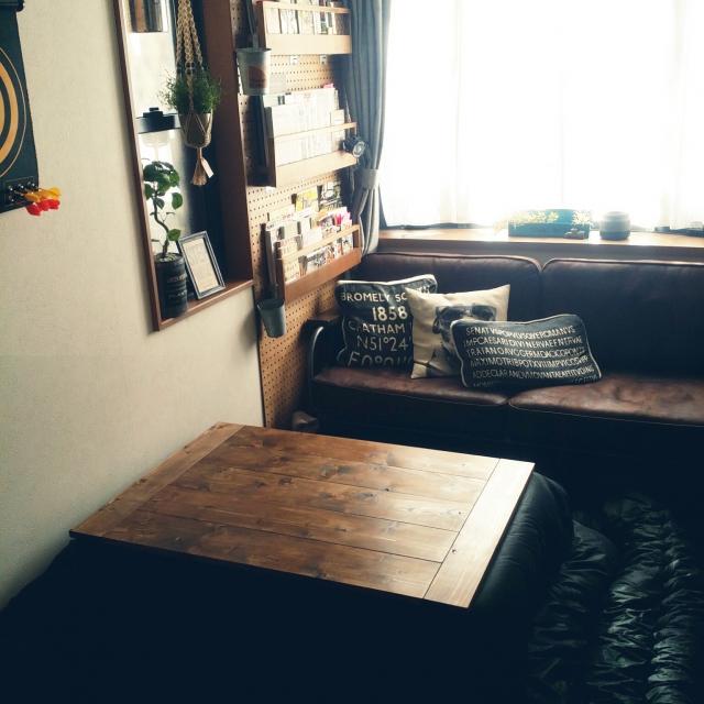こたつテーブルの天板をDIY