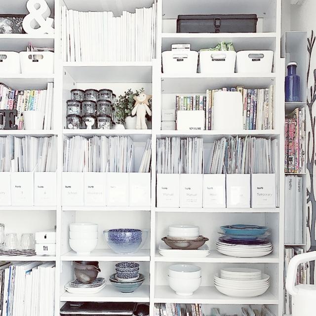 「書類整理をスタイリッシュにするファイルボックス」わたしの愛用品  vol.25 AYAさん