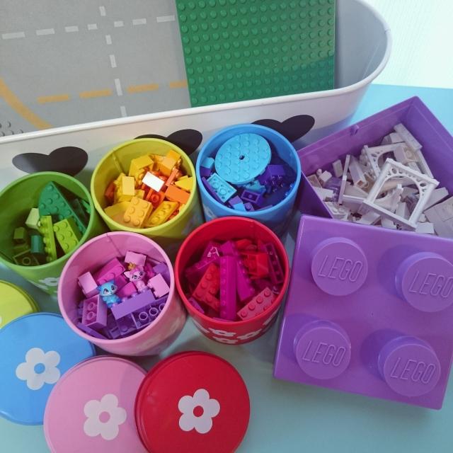 レゴ遊びを思う存分楽しめる♪ストレスフリーの収納術