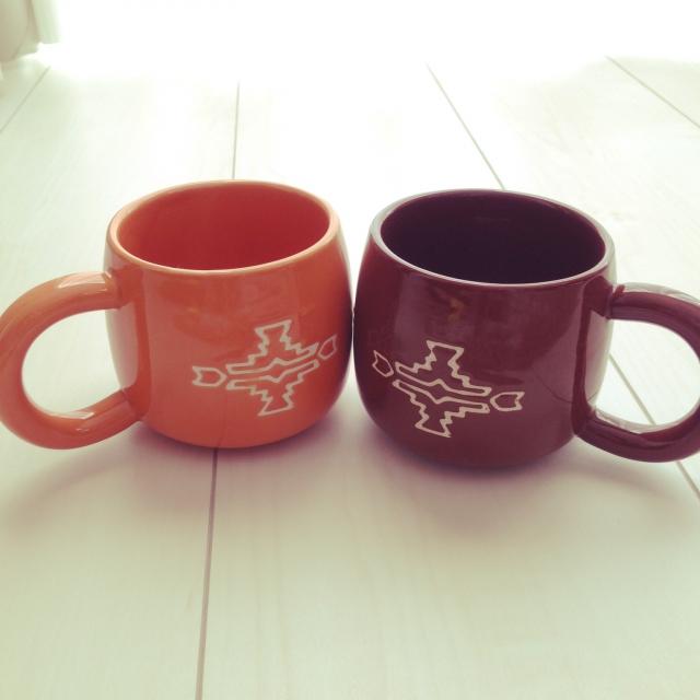 セリア、マグカップ108円(1つ)