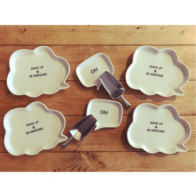 行くたびに欲しいが見つかる!ダイソーの魅力的なお皿たち