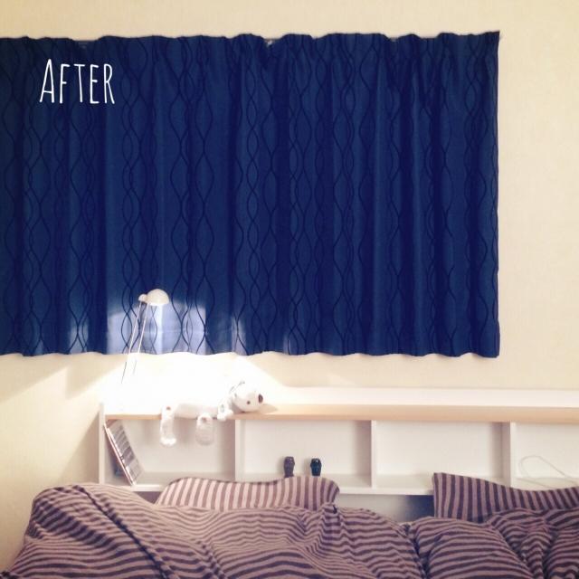 emospice7716さんの寝室カーテン