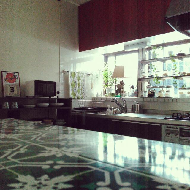 「築45年。人とのつながり、ぬくもり、丁寧な暮らしのある台所」 by amelliaさん
