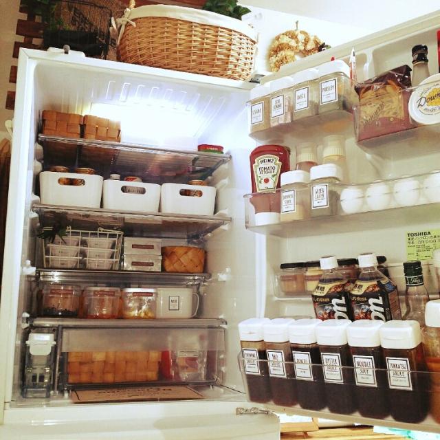 主婦の悩み……ごちゃつく冷蔵庫の整理術★