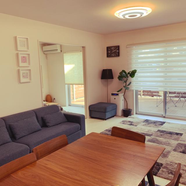 「ゆったりとくつろげる、暮らしに柔軟なシンプルハウス」 by OHANAさん