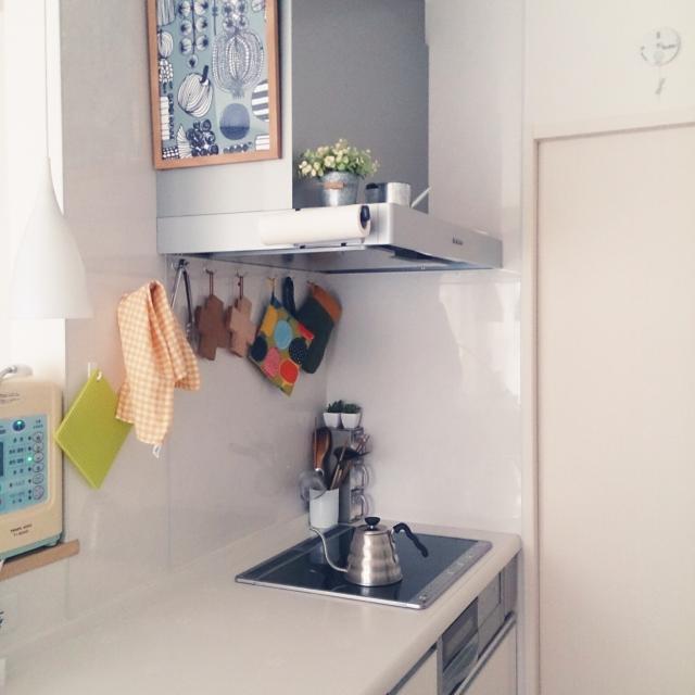 安心してください。隠れます!キッチンの生活感を隠す10の技