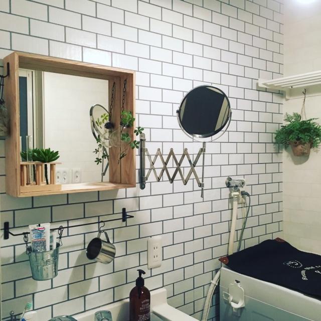 バスルームで使ってみたい!IKEAのFRÄCKミラー♪