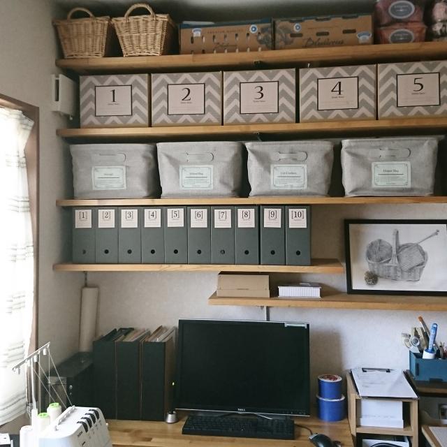 棚をもっと使いやすく&見栄えよく☆整理収納アイディア