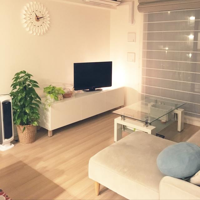 即決できる価格と魅力のデザイン☆IKEAのTV台&TVボード