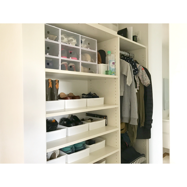 すっきりきれいで使いやすい!玄関収納を整理整頓するコツ