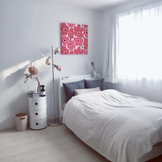 お部屋すっきりで快適な睡眠を♪寝室をきれいに保つ収納術