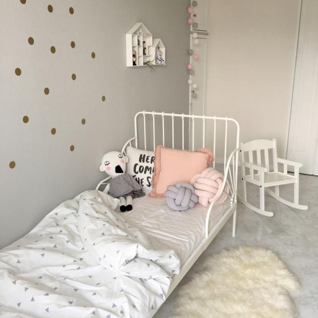 大人も憧れる♡IKEAアイテムを使った女の子のお部屋