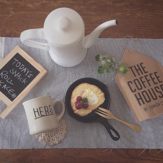 月兎印のスリムポットでコーヒータイム