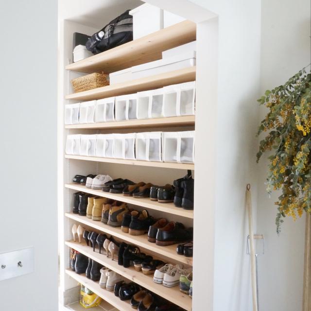 3パターンで叶う!散らかりがちな靴を賢く収納する方法