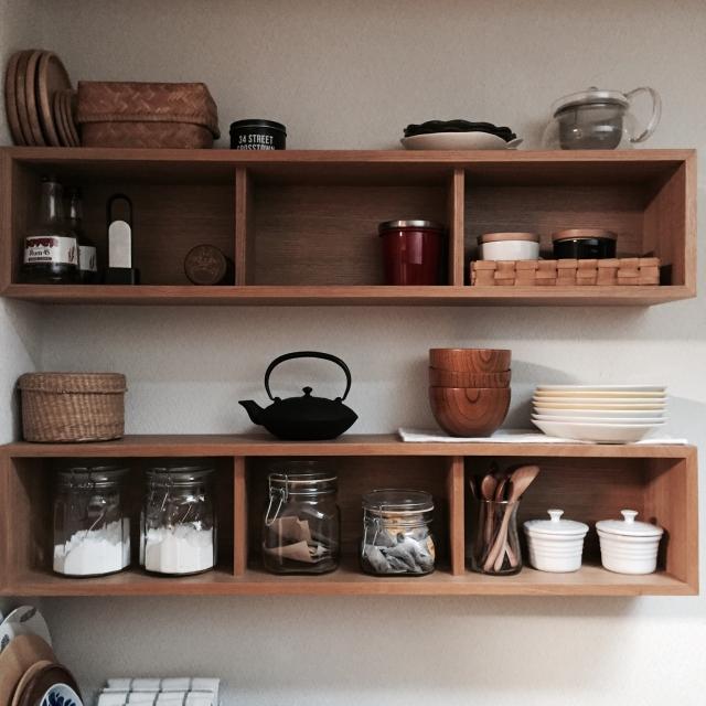 キッチンでも大活躍!?無印良品「壁に付けられる家具」