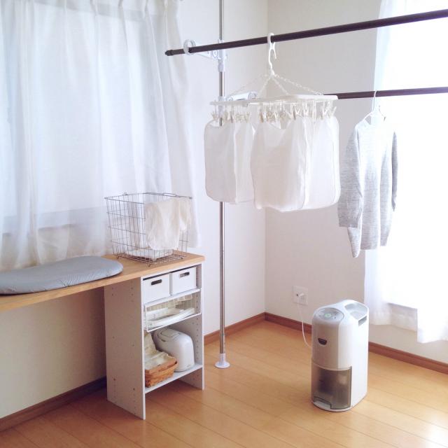 洗濯時間をもっと楽しく快適に♪ニトリの洗濯グッズ