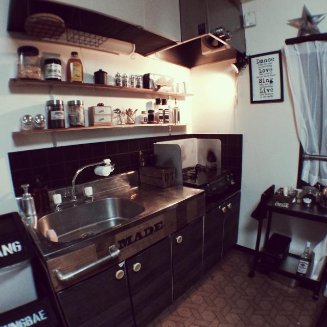 賃貸のキッチンを利用!