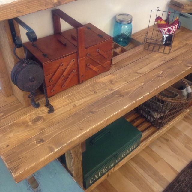 木製裁縫箱