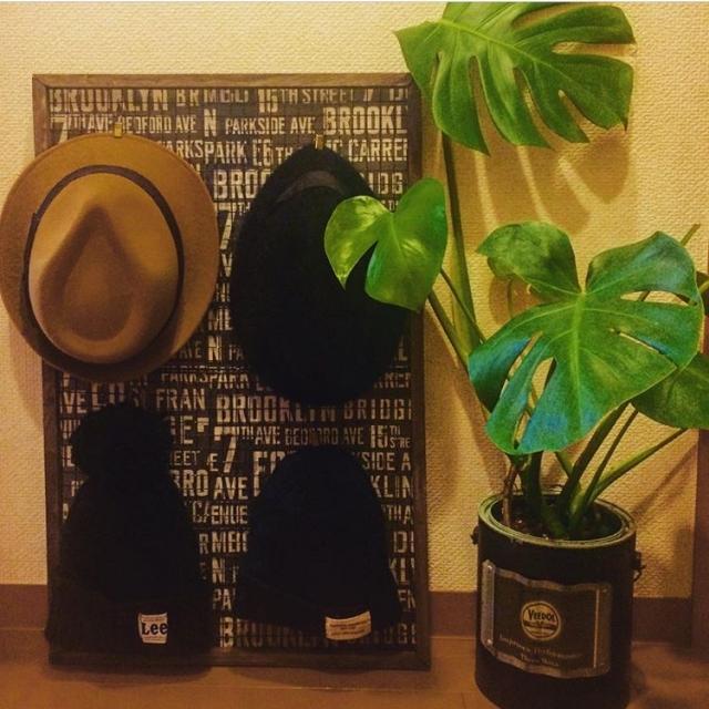 「部屋のアクセントにも◎サッと使いやすい帽子収納アイテム」 by saya_saaya_171819さん[特集:あの人に聞く、おすすめアイテム&○○のやり方]