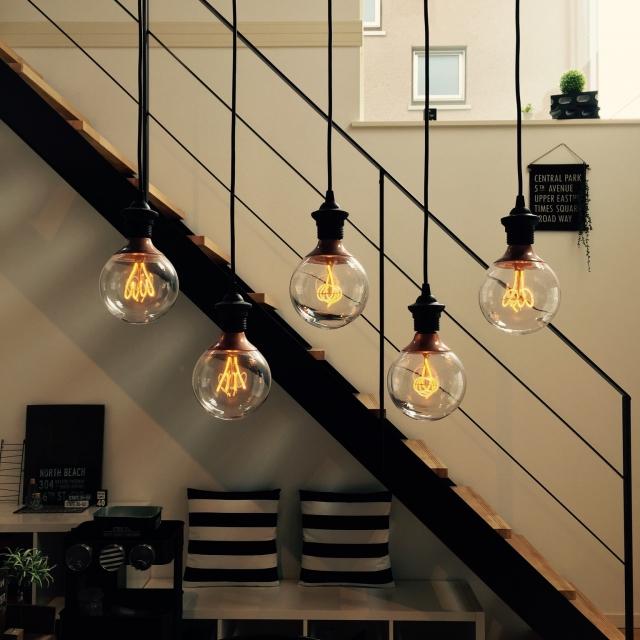 デザインで選ぼう。モノトーンスタイルに合うIKEAの照明