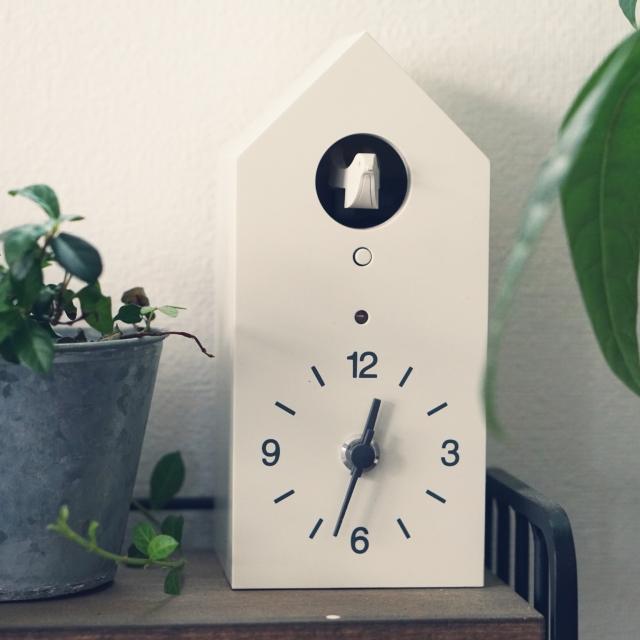 鳥の声が心地良い☆シンプルがうれしい無印良品の鳩時計