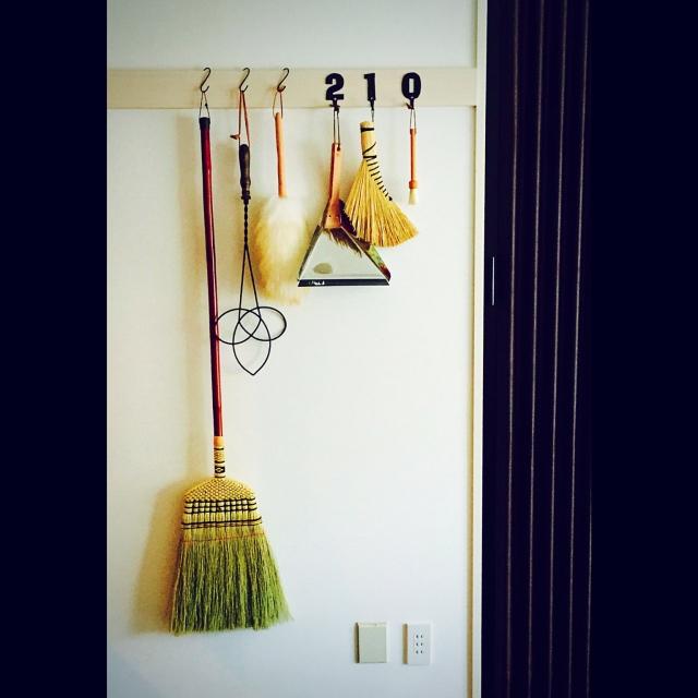ディスプレイ感覚で壁を飾る