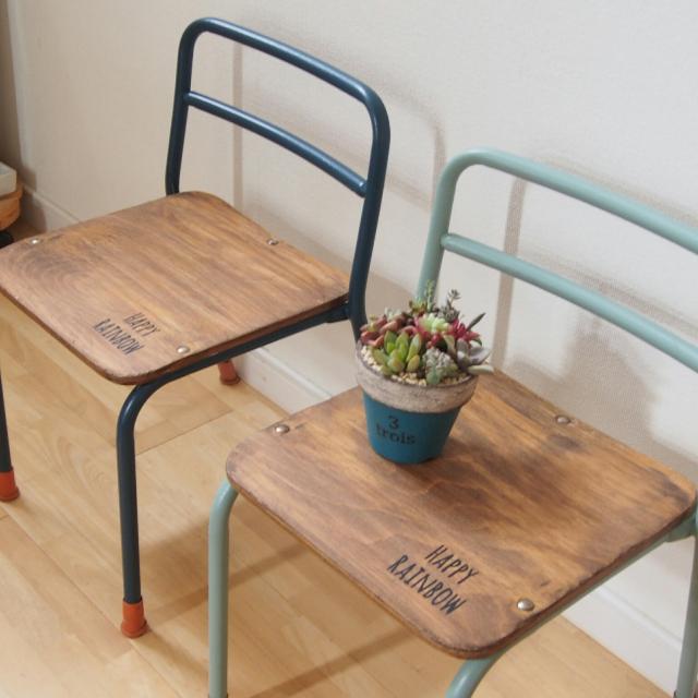 自分で修理もできちゃう♪おうちのいすをリメイクで変身