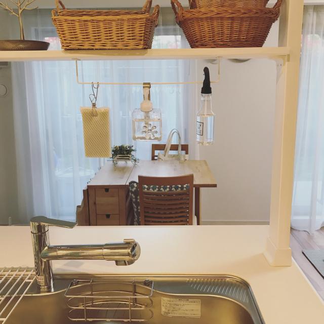 清潔さ&使いやすさがポイント!キッチン洗剤の置き方実例