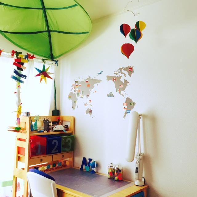 世界地図の勉強