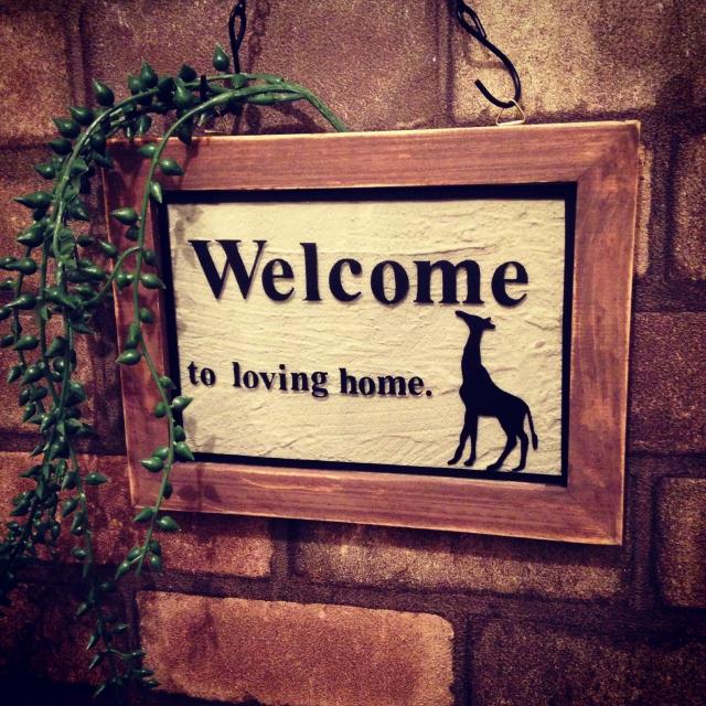 ウェルカムボードはおうちの顔!DIYで、玄関を飾ろう。