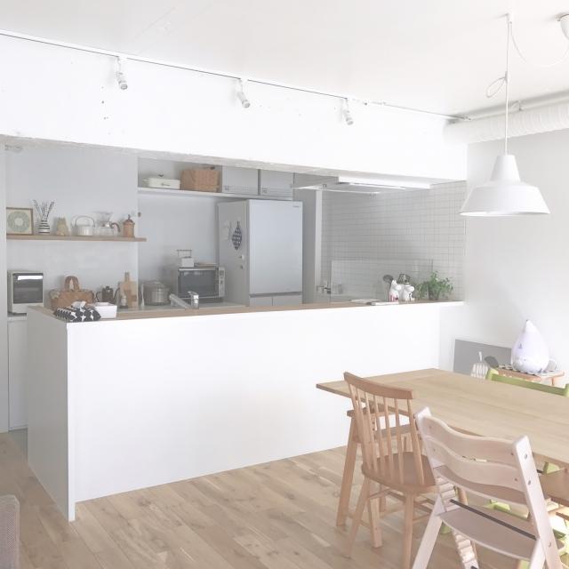 「『好きなもの』の存在感を生かした、北欧ナチュラルなシンプル空間」憧れのキッチン vol.90 i_and_yさん