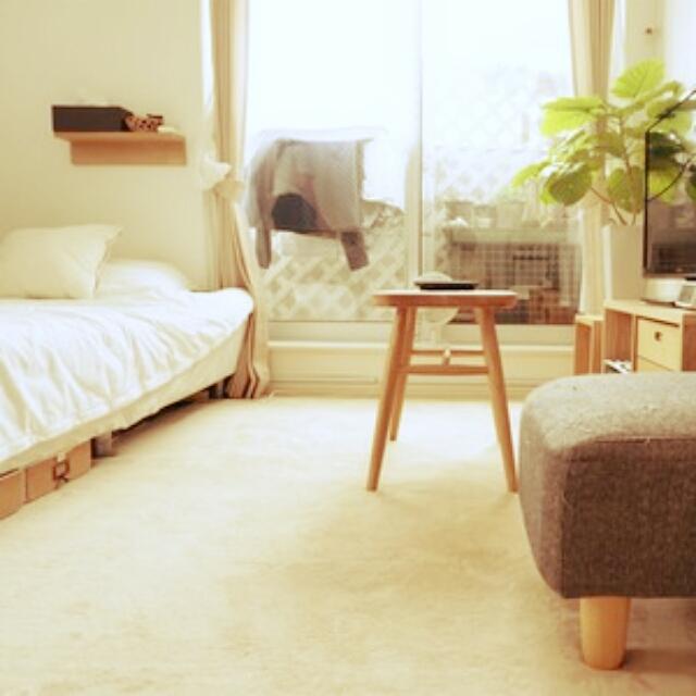 こんなお部屋に住みたい!素敵なワンルーム実例集