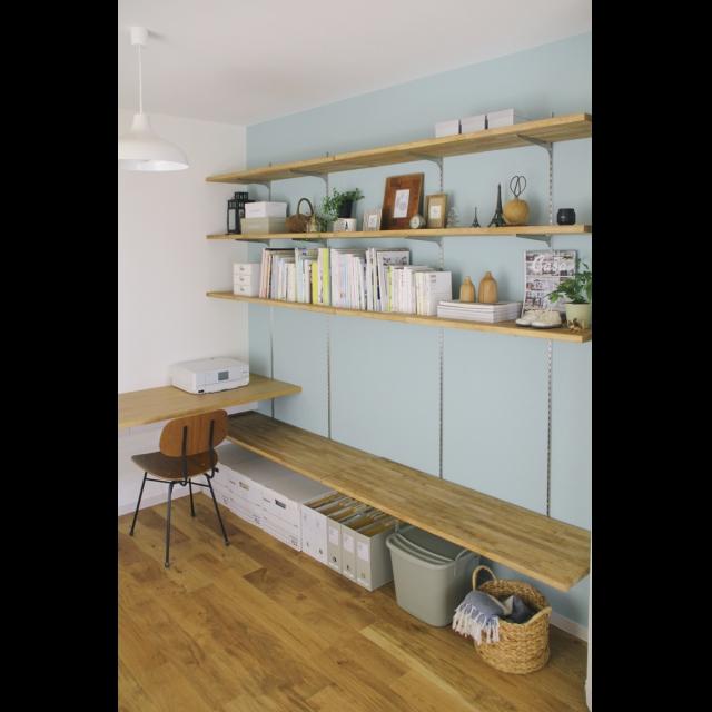 可動式の棚を手作りして好きな幅に動かそう