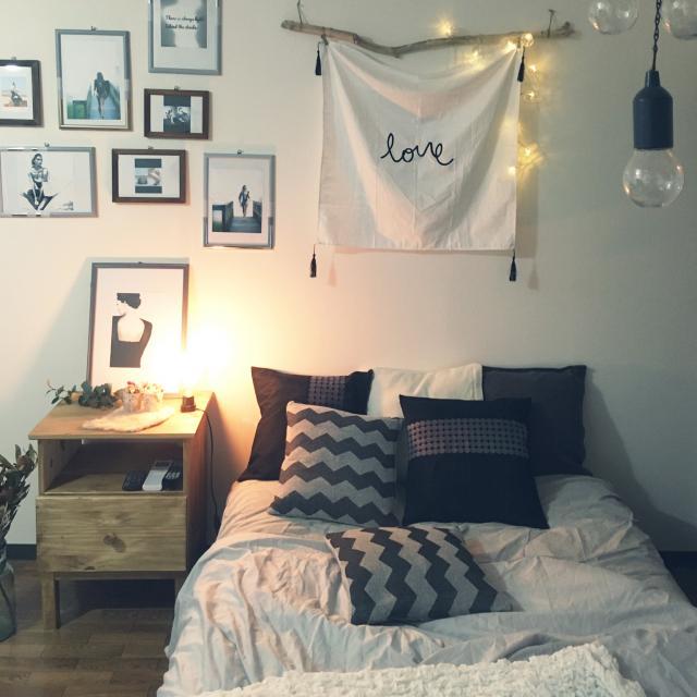 1日の疲れをリセット♡寝室で作るおすすめリラックス空間
