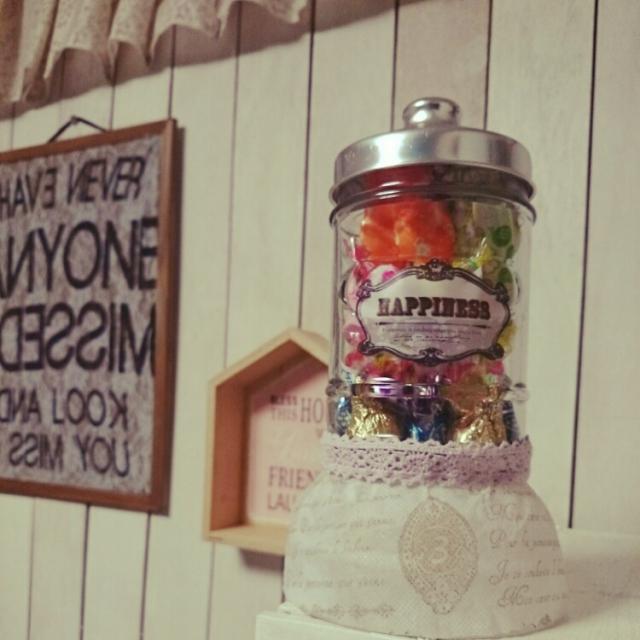 甘いものが大好きな女子の夢を叶えるキャンディポット。